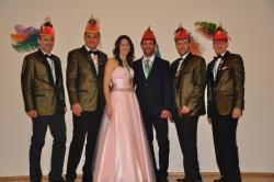 Prinzenpaar & Präsidium 2016